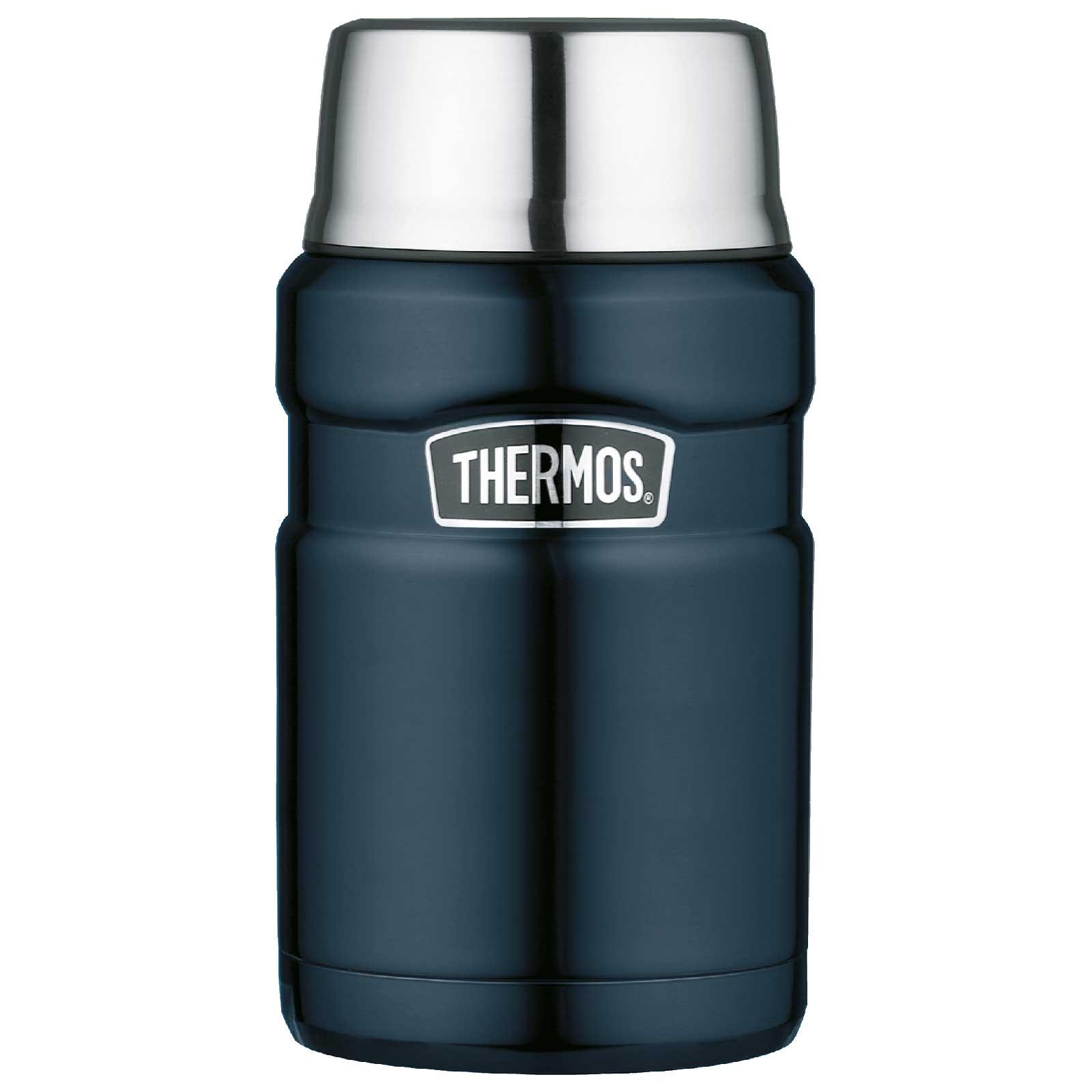 Produktbild von Thermos Stainless King Food Jar 0.71L Isolier-Speisegefäß - midnight blue polished