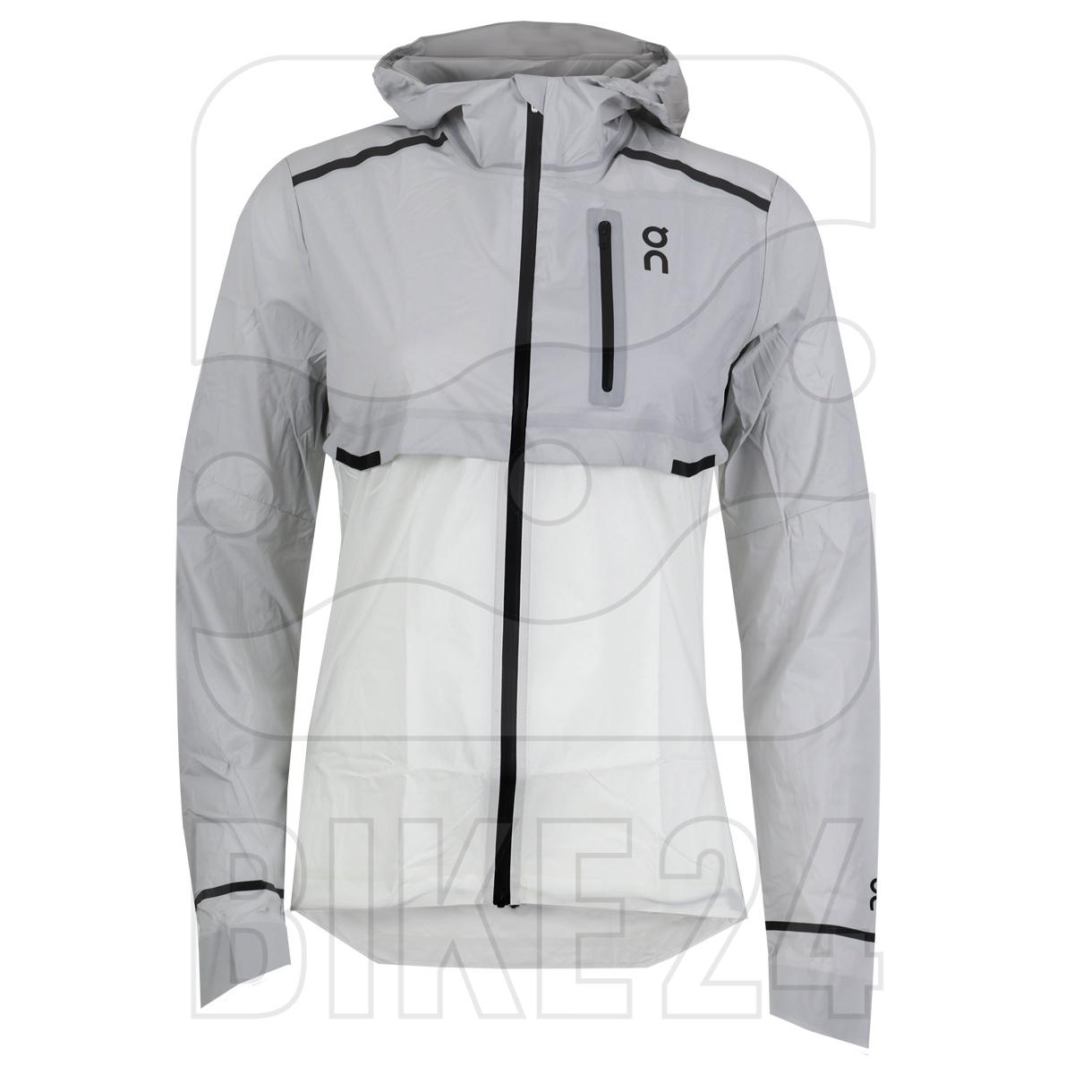 On Weather Jacket Women - Grey & White