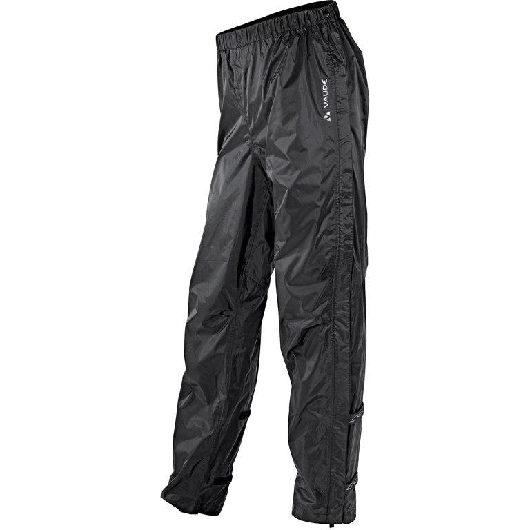 Vaude Fluid Full-Zip II Regenhose - schwarz