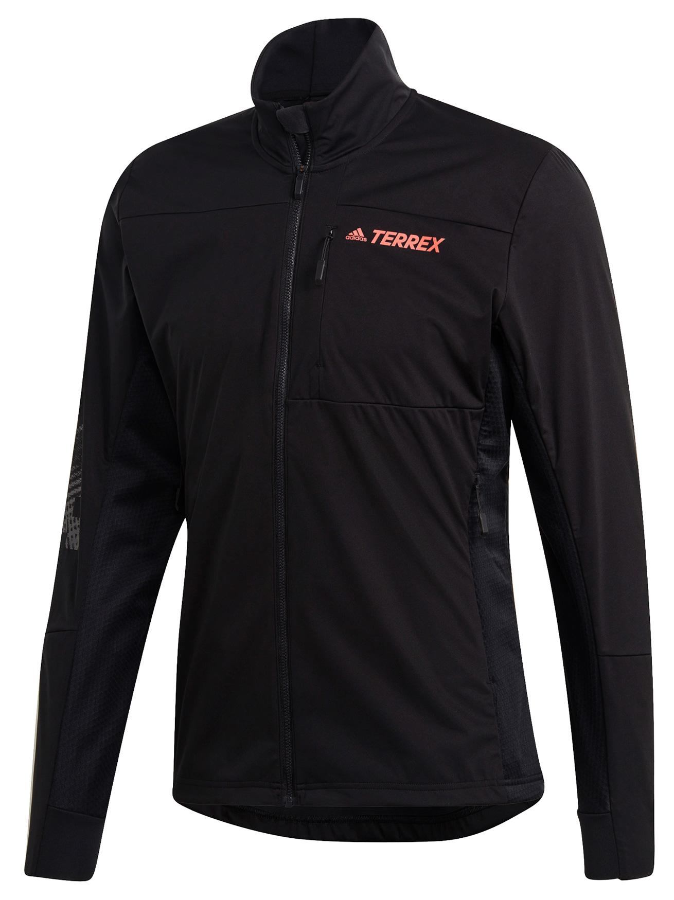 adidas Men's TERREX Agravic XC Softshell Jacket - black FT9983