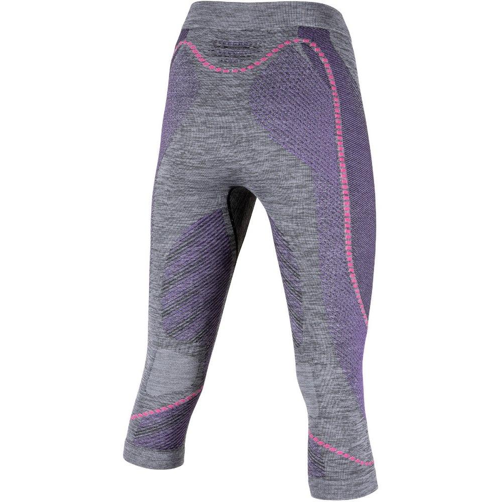 Bild von UYN Ambityon 3/4 Unterhose Damen - Black Melange/Purple/Raspberry