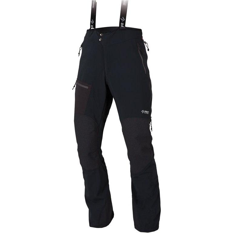 Directalpine Couloir Plus Softshell Overpants - black