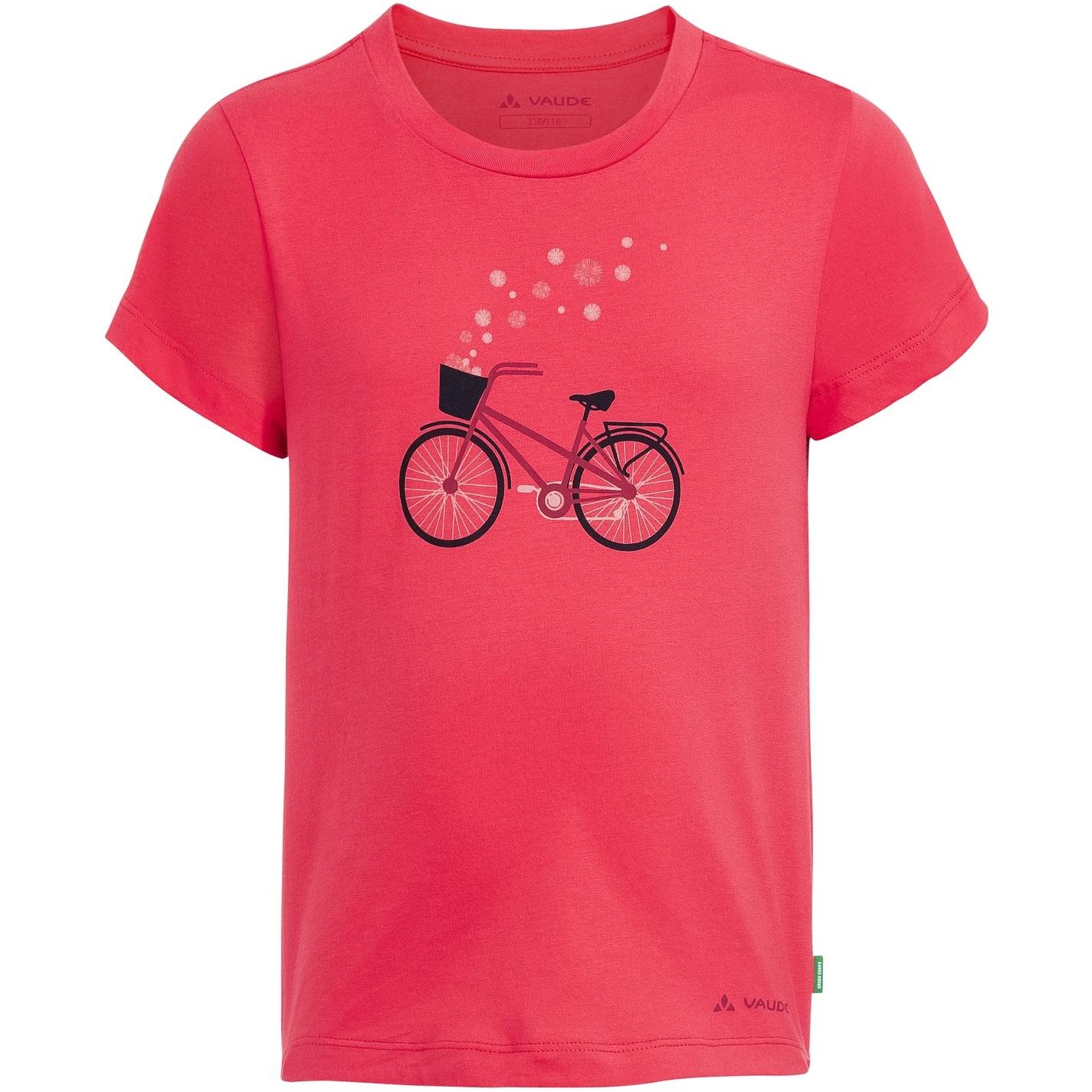 Vaude Kids Lezza T-Shirt - bright pink/cranberry