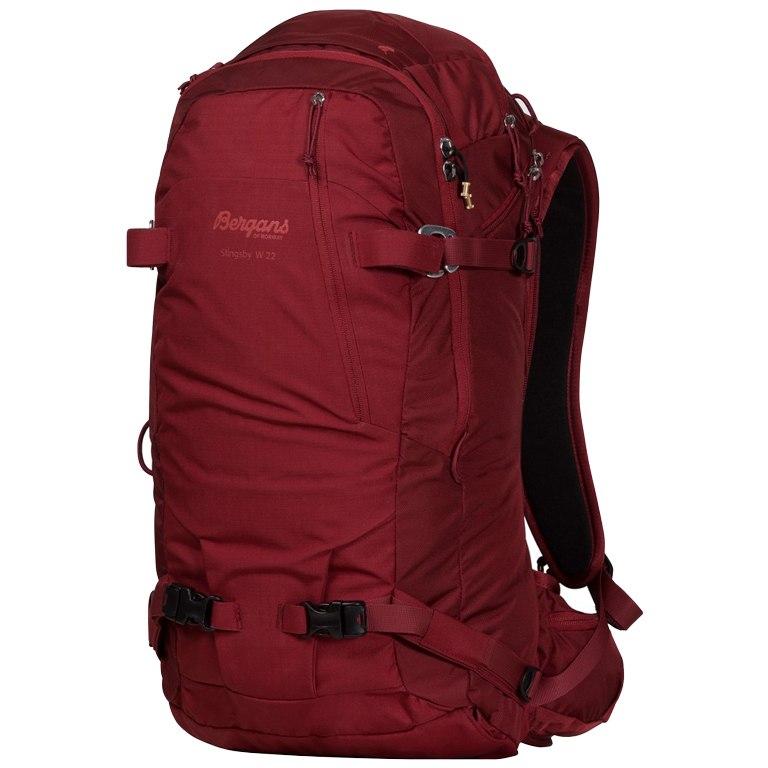 Bergans Slingsby 22 Women's Backpack - Bordeaux