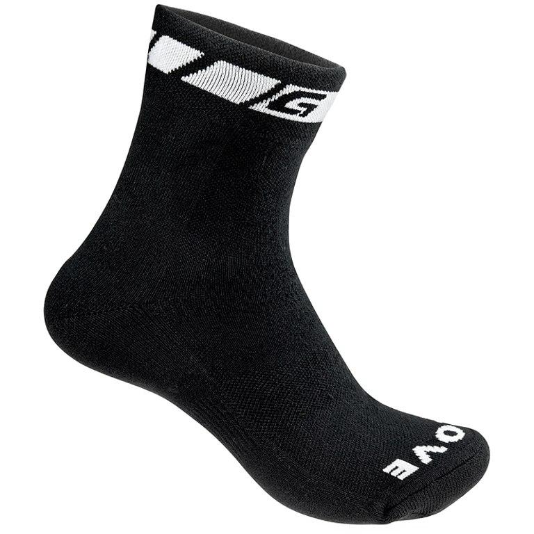 GripGrab Spring/Fall Midseason Sock - Black