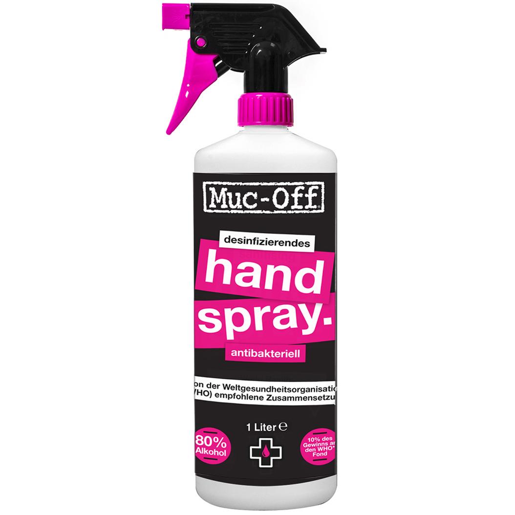 Produktbild von Muc-Off Antibakterielles Händedesinfektionsspray - 1L