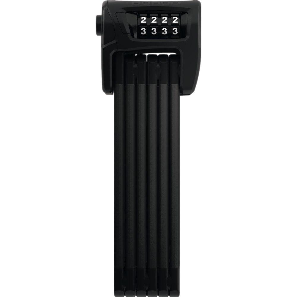 Foto de ABUS Bordo Combo 6100/90 - Candado plegable + SH 6000/6100 Soporte - negro