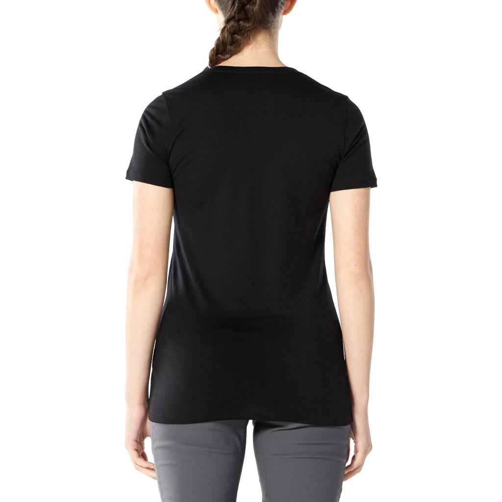 Bild von Icebreaker Tech Lite Scoop Leaf Damen T-Shirt - Fire