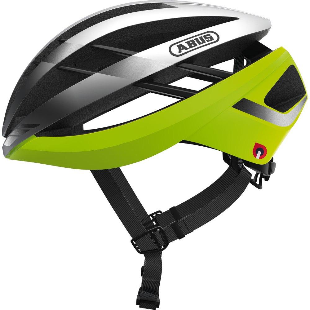 ABUS Aventor Quin Helmet - neon yellow