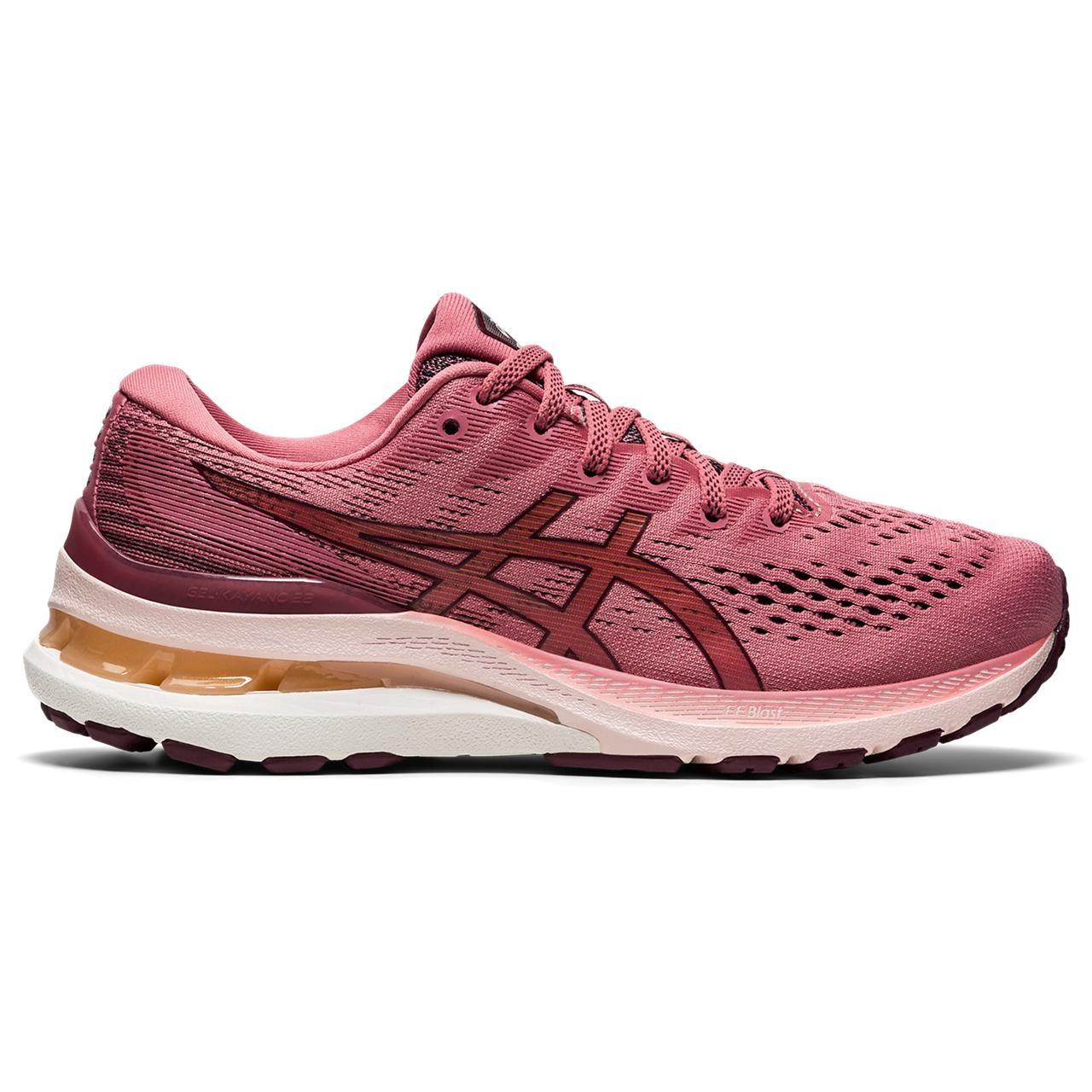 Produktbild von asics Gel-Kayano 28 Damen Laufschuh - smokey rose/deep mars