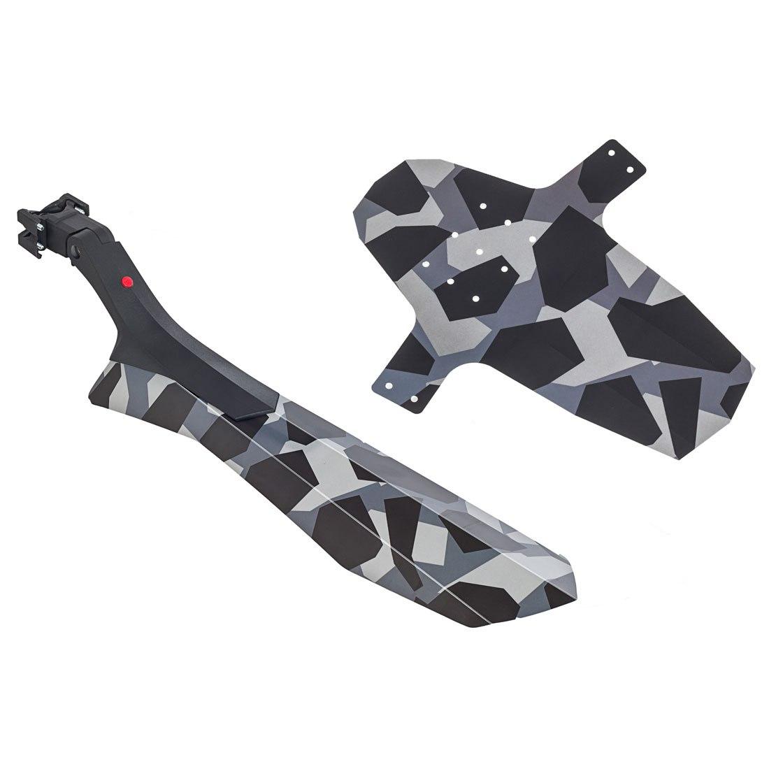 Hebie Swap Set 724 MTB/Trekking-Mudguard Set 26 Inches - 29 Inches