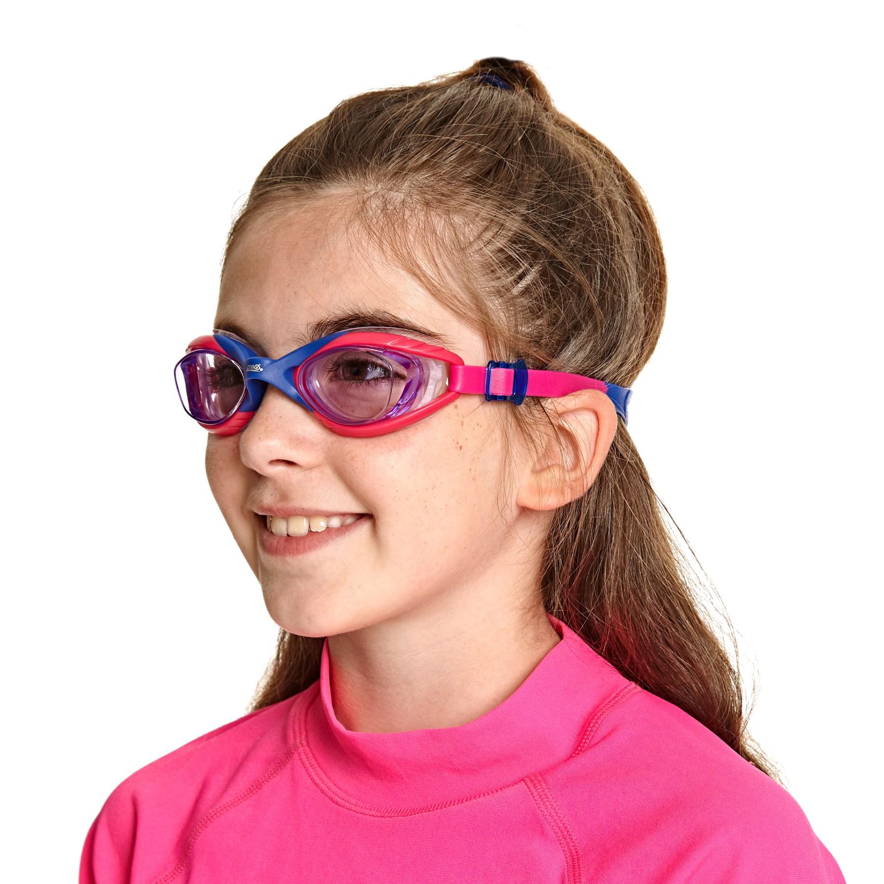 Bild von Zoggs Sonic Air Junior 2.0 Kinder Schwimmbrille - Pink/Purple/Tint