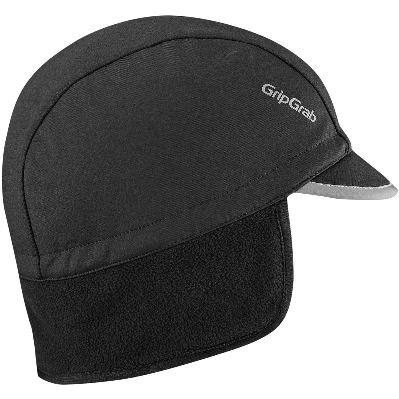 GripGrab Windproof Winter Cycling Cap - Black