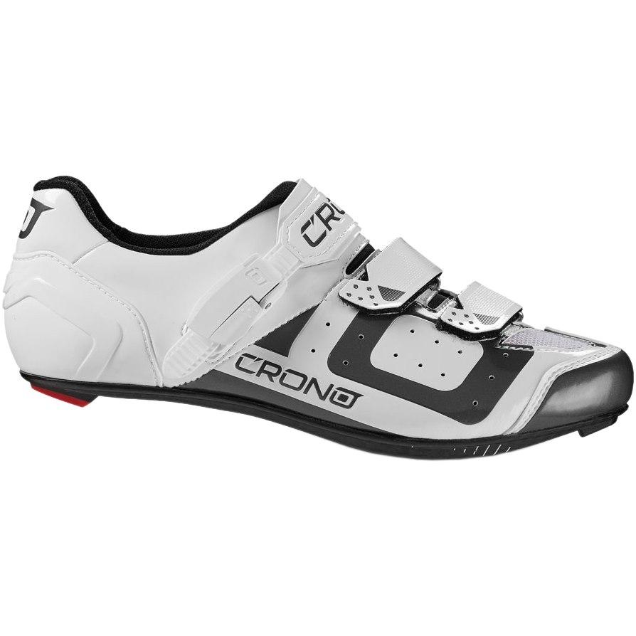 Crono CR3 Road Nylon Shoe - White