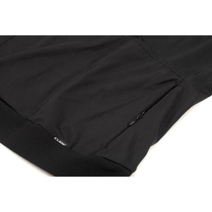 Image of CUBE BLACKLINE Jersey S/S - black