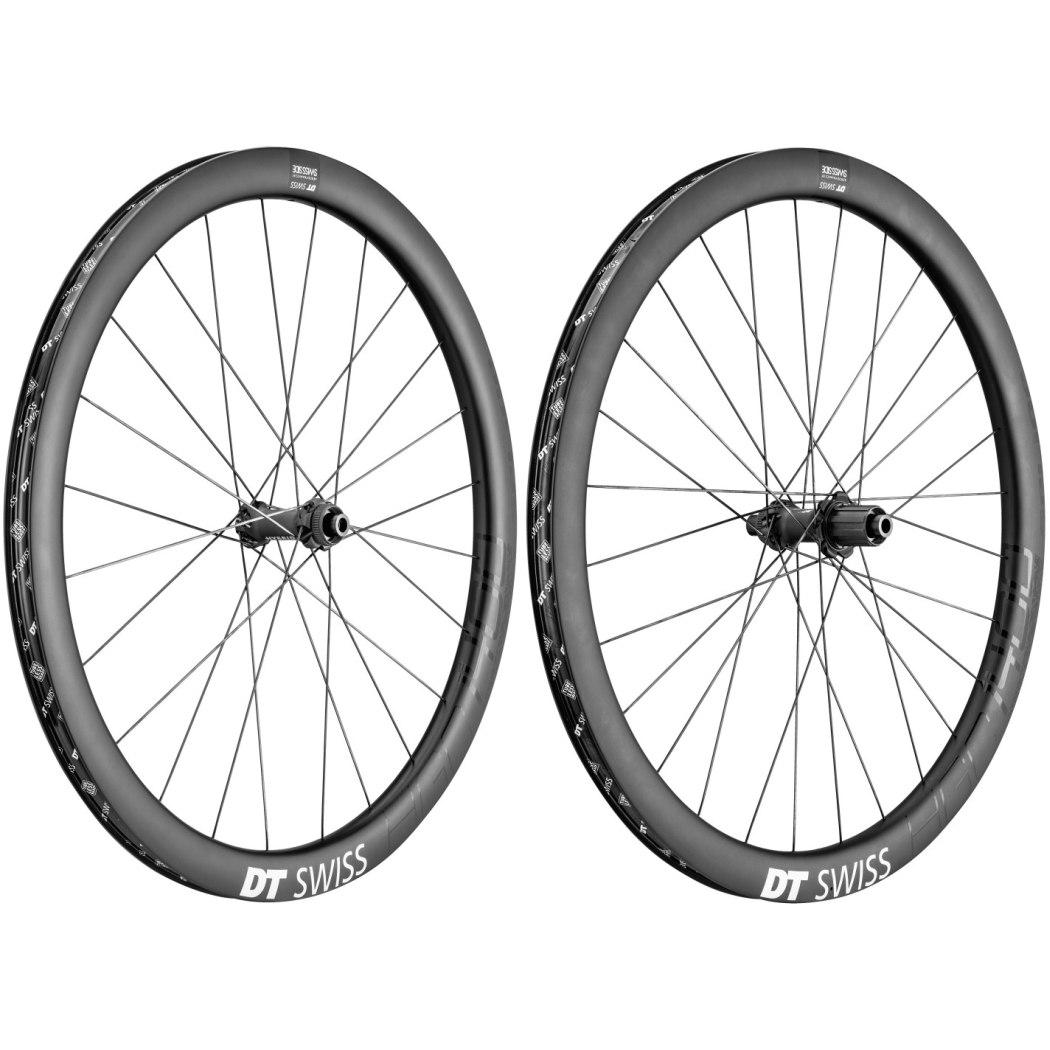 "DT Swiss HGC 1400 Spline Carbon db 42 - 27.5"" Wheelset - Clincher - Centerlock / 6 Bolt - Shimano HG / SRAM XDR - FW: 12x100mm | RW: 12x142mm"