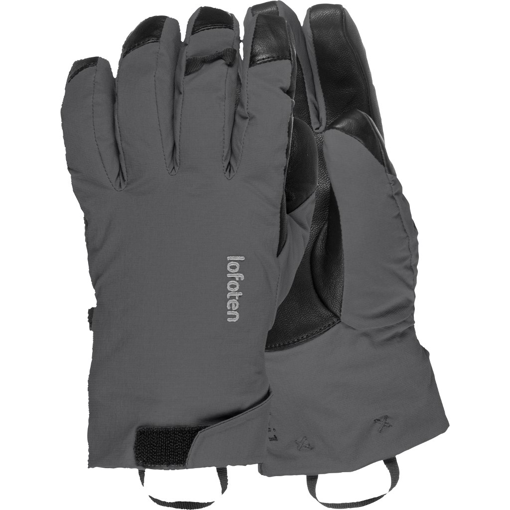 Image of Norrona lofoten dri1 PrimaLoft170 short Gloves - Phantom