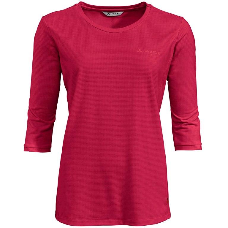 Vaude Women's Skomer 3/4 T-Shirt - cranberry