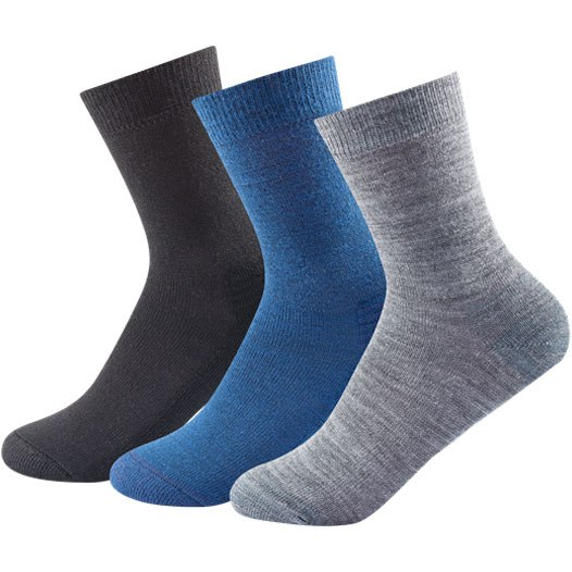 Devold Daily Medium Socks (3pk) - 273 indigo mix