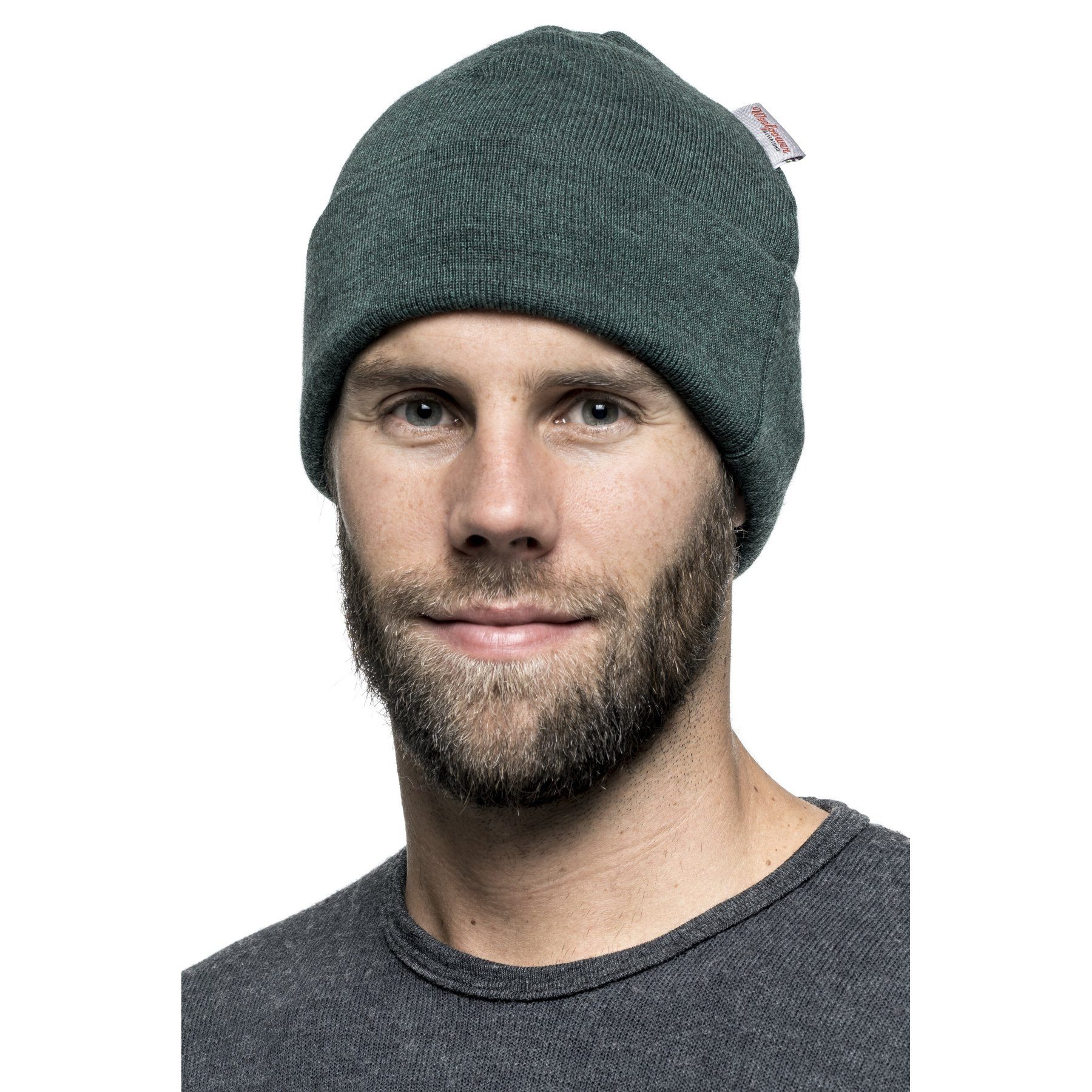 Image of Woolpower Beanie Classic - forest green
