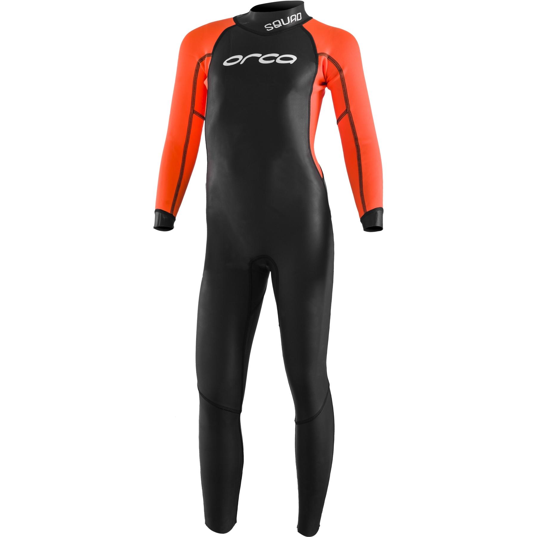 Orca Triathlon Openwater Squad Kinder Neoprenanzug - black