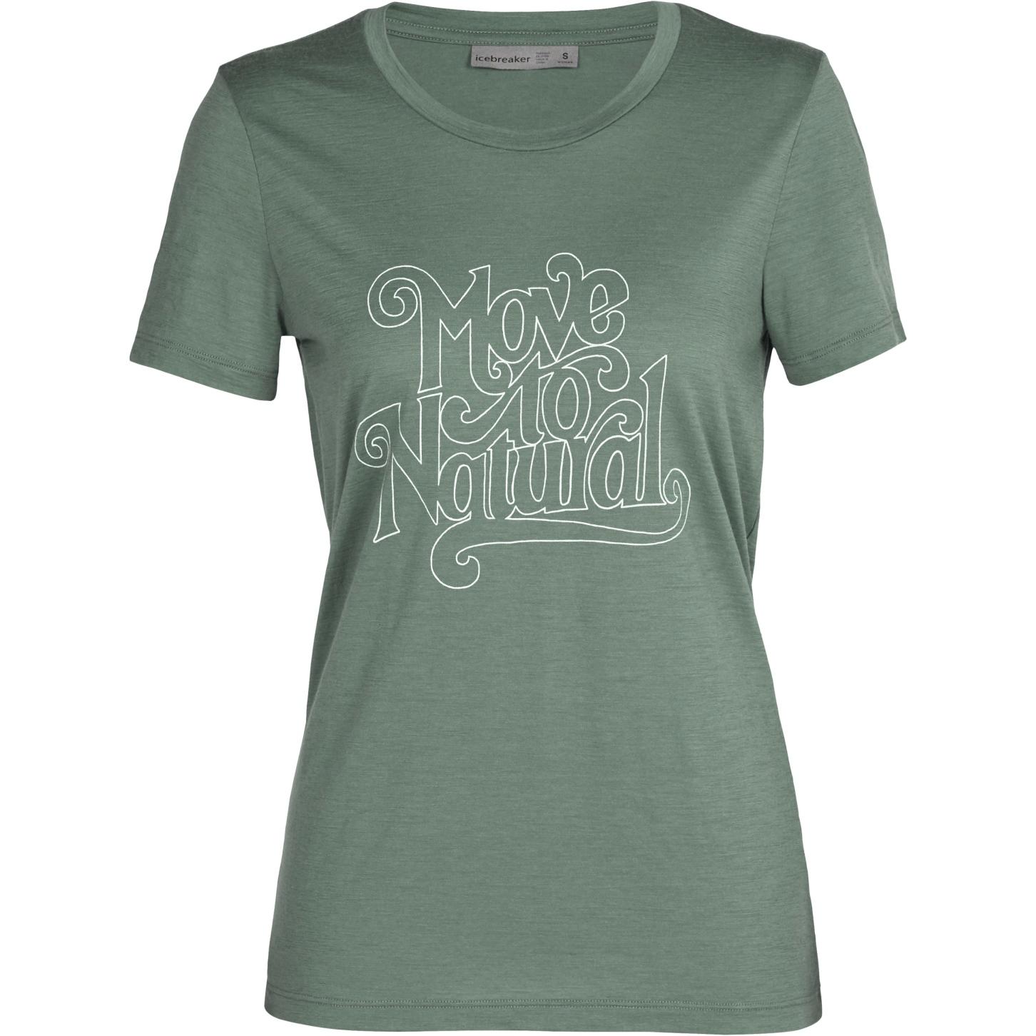 Produktbild von Icebreaker Tech Lite II Move to Natural Damen T-Shirt - Sage