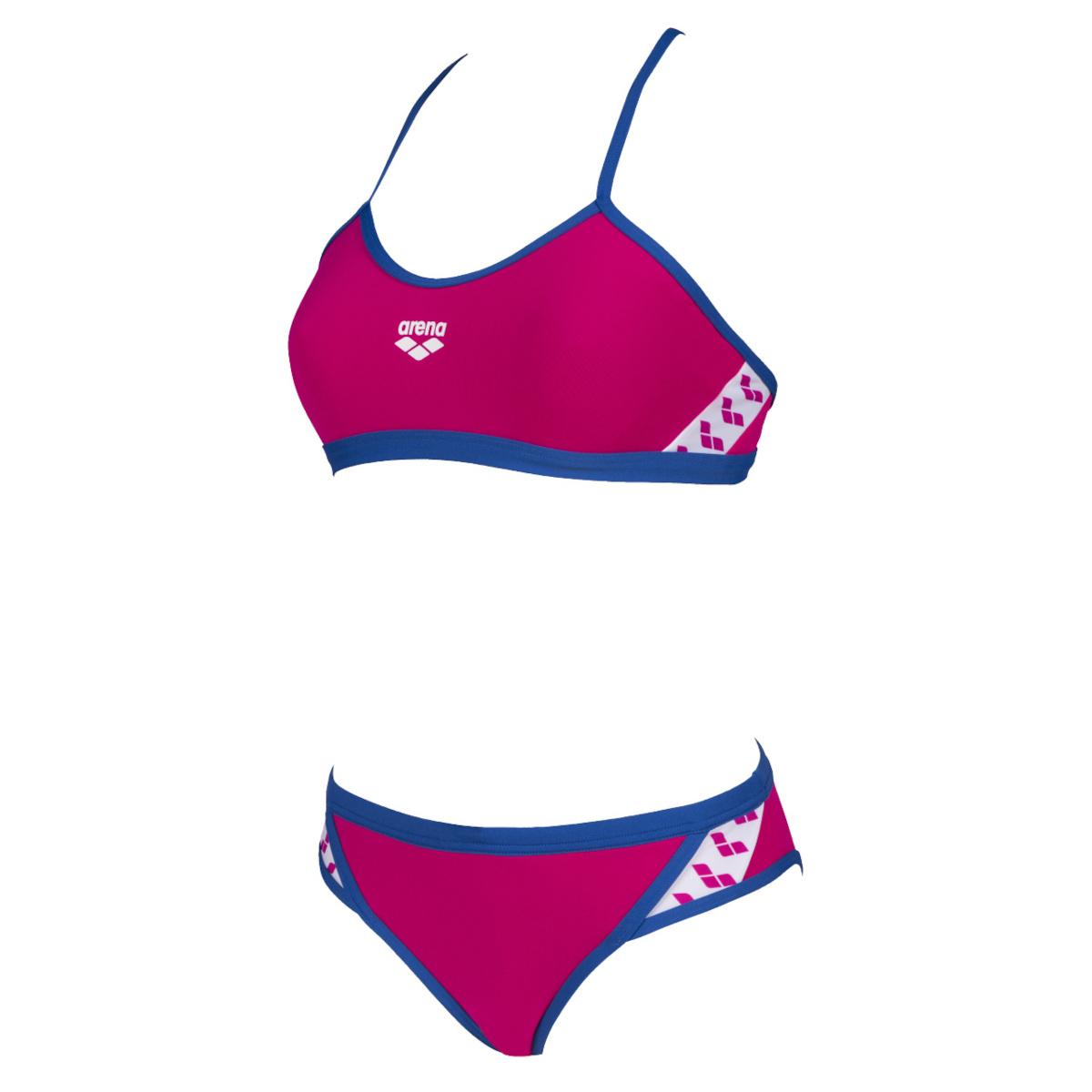 arena Team Stripe Women Bikini - freak rose-royal