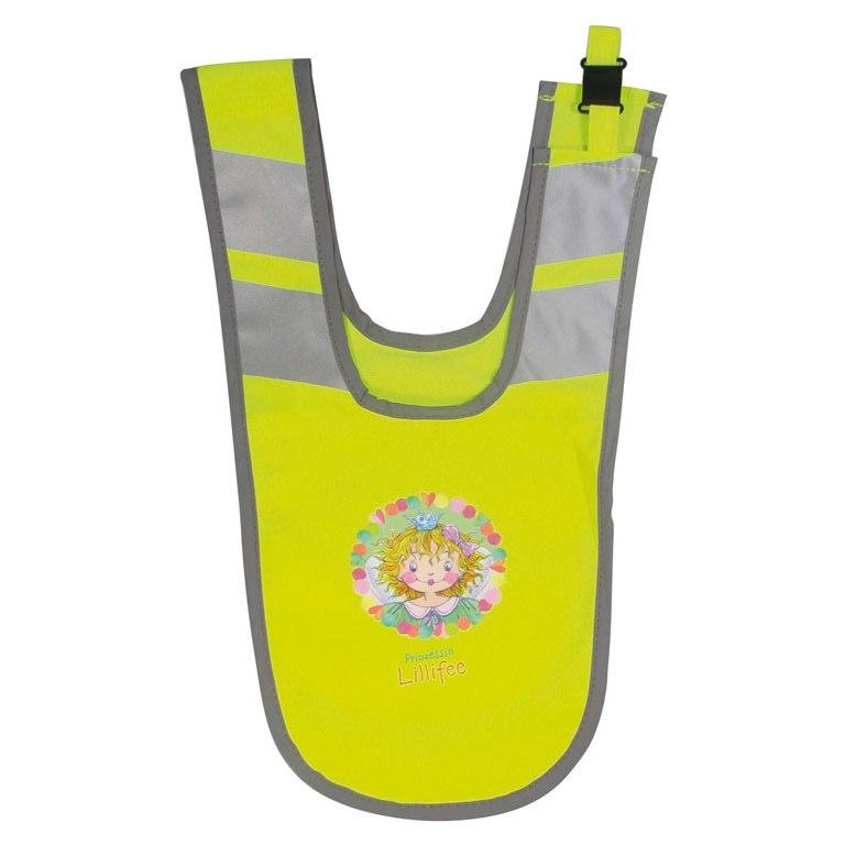 Image of B-Lite Collar Kids Lillifee Reflective Collar for Kids - neon yellow