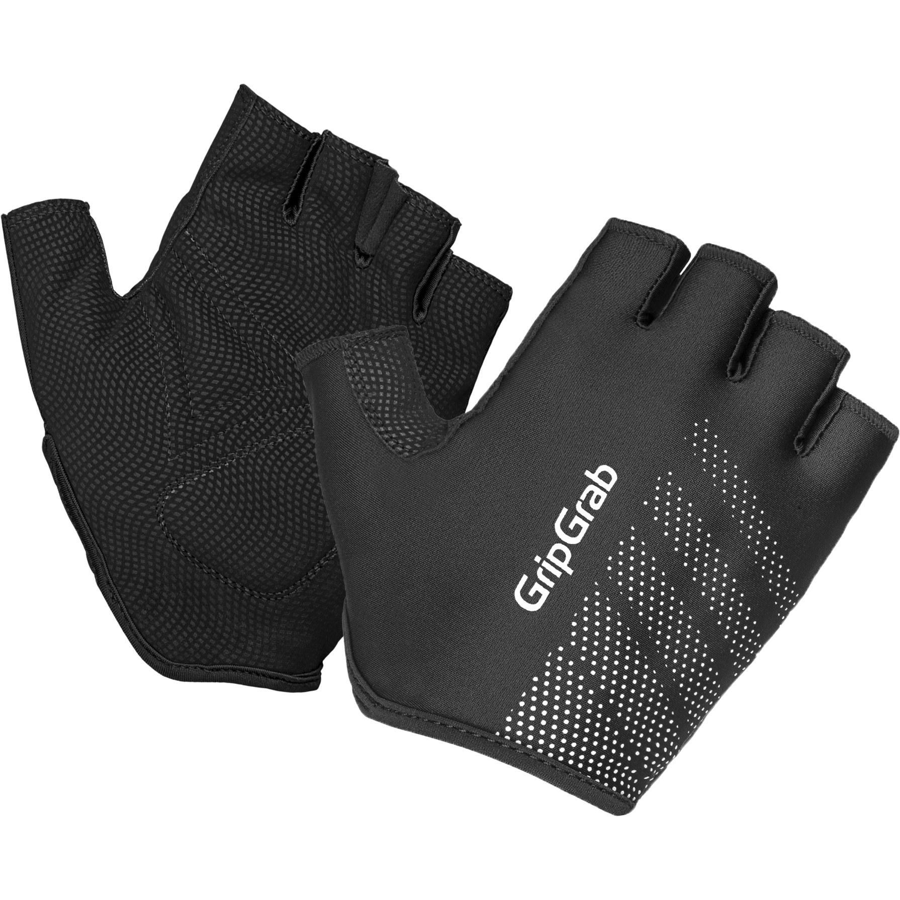 GripGrab Ride Lightweight Padded Short Finger Glove - Black