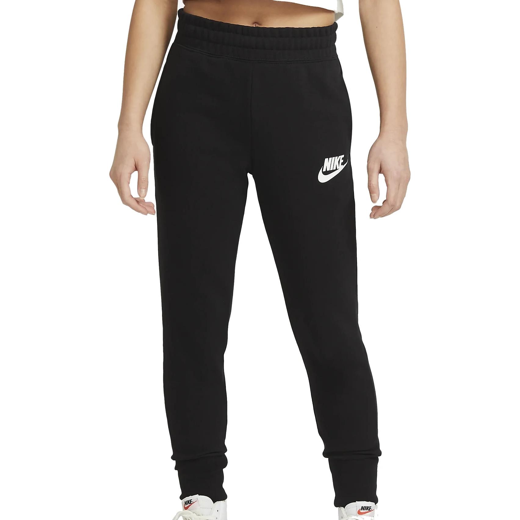 Foto de Nike Sportswear Club French-Terry Pantalon para niños - black/white DC7211-010