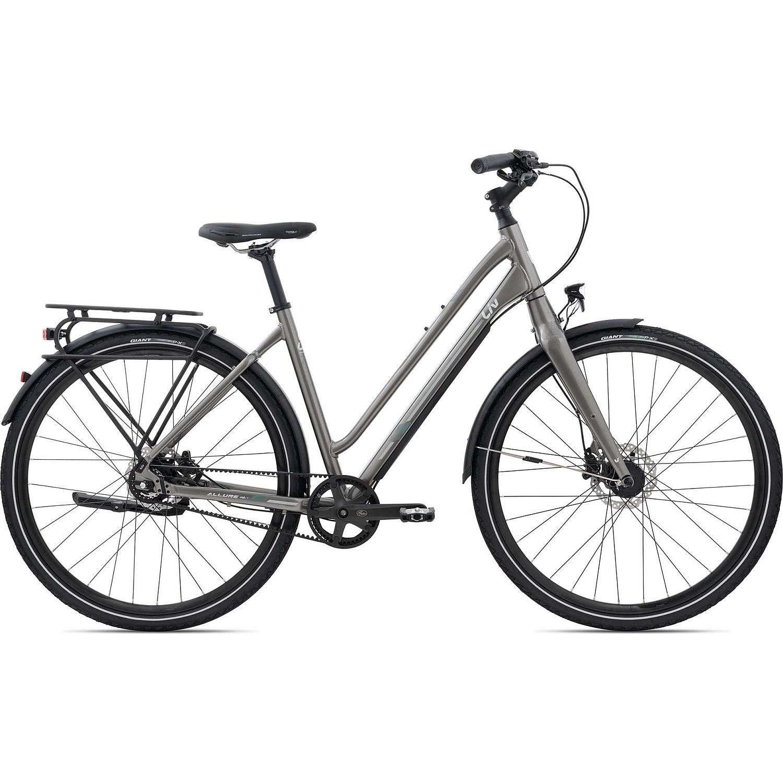 Liv ALLURE CS 1 - Women Citybike with belt drive - 2021 - charcoal grey
