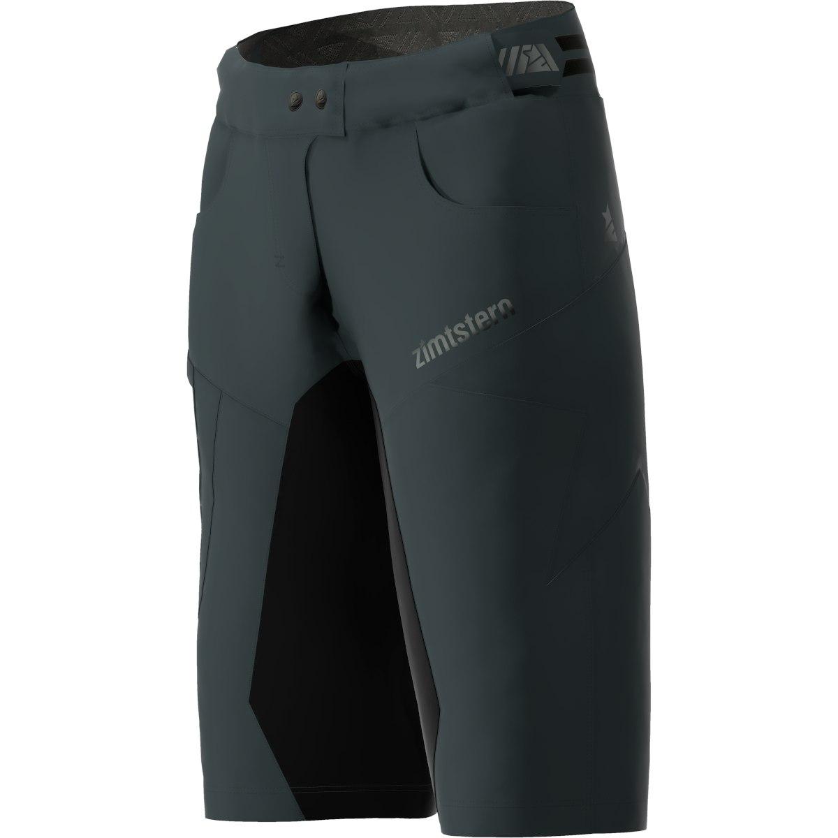 Image of Zimtstern Taila Evo MTB-Shorts for Women - pirate black/black