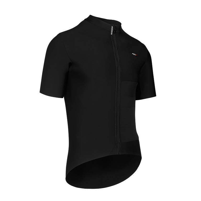 Image of Assos EQUIPE RS Winter Short Sleeve Mid Layer Jersey - blackSeries