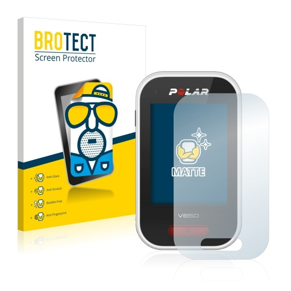 Image of Bedifol BROTECT® Matte Screen Protector for Polar V650 (2 Pcs.)