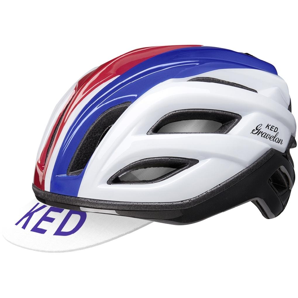 KED Gravelon Helm - tri color