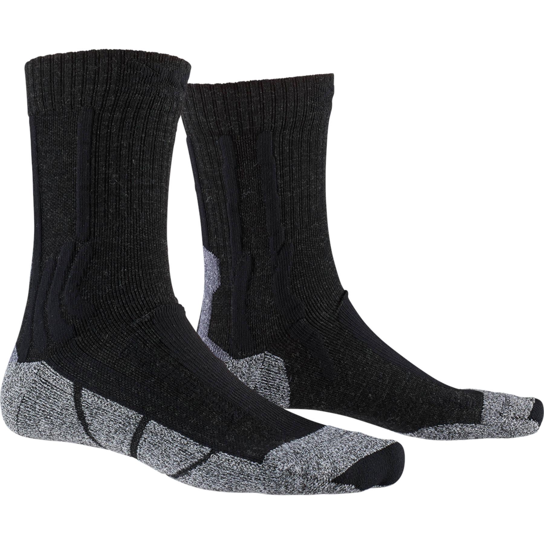 X-Socks Trekking Silver Women's Socks - opal black/dolomite grey melange