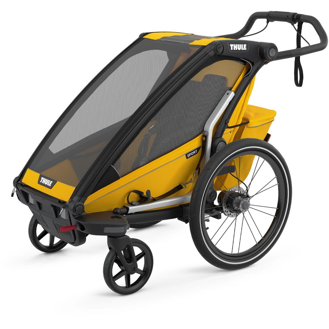 Foto de Thule Chariot Sport 1 - Remolque de bicicleta para 1 niño - spectra yellow