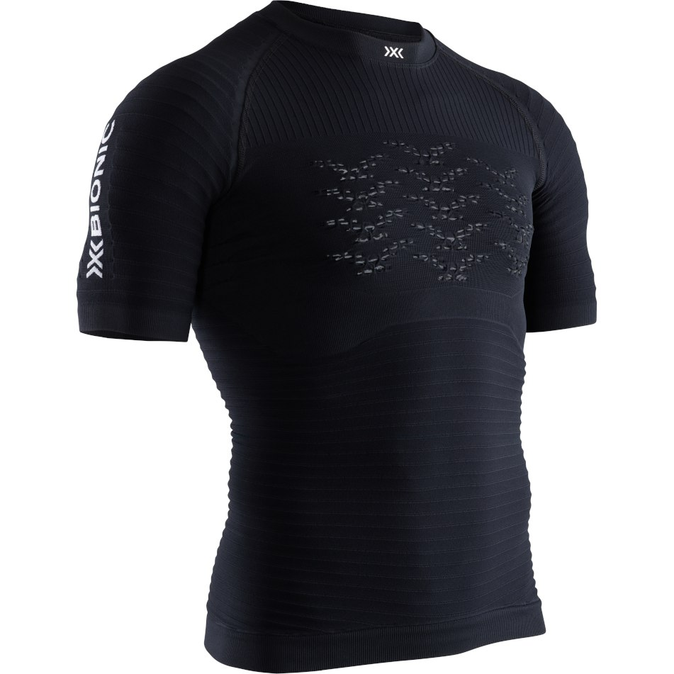 Produktbild von X-Bionic Effektor 4.0 Run Kurzarm-Laufshirt für Herren - opal black/arctic white