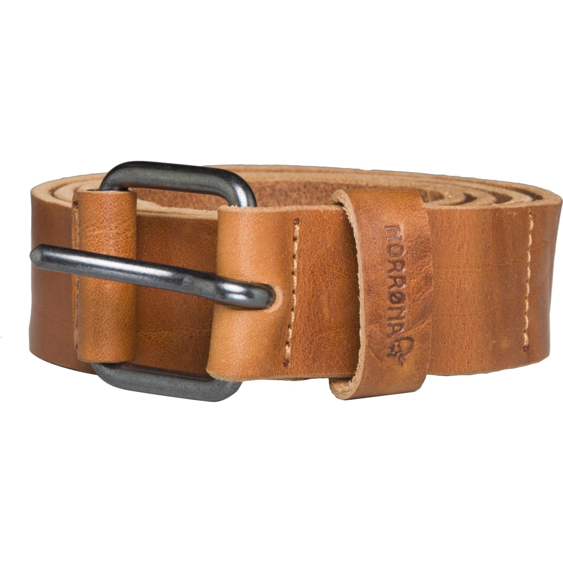 Norrona /29 leather Belt - Brown