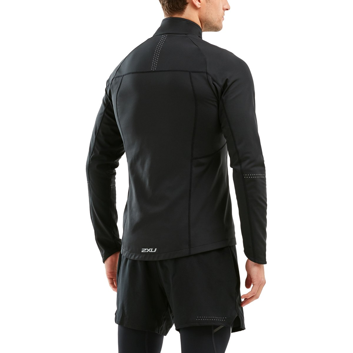 Imagen de 2XU Pursuit Thermal Hybrid Jacket - black/black