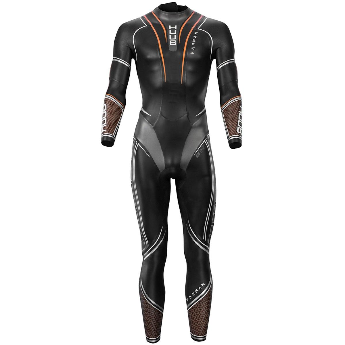 HUUB Design Varman 3:5 Triathlon Wetsuit Neoprenanzug - schwarz/orange
