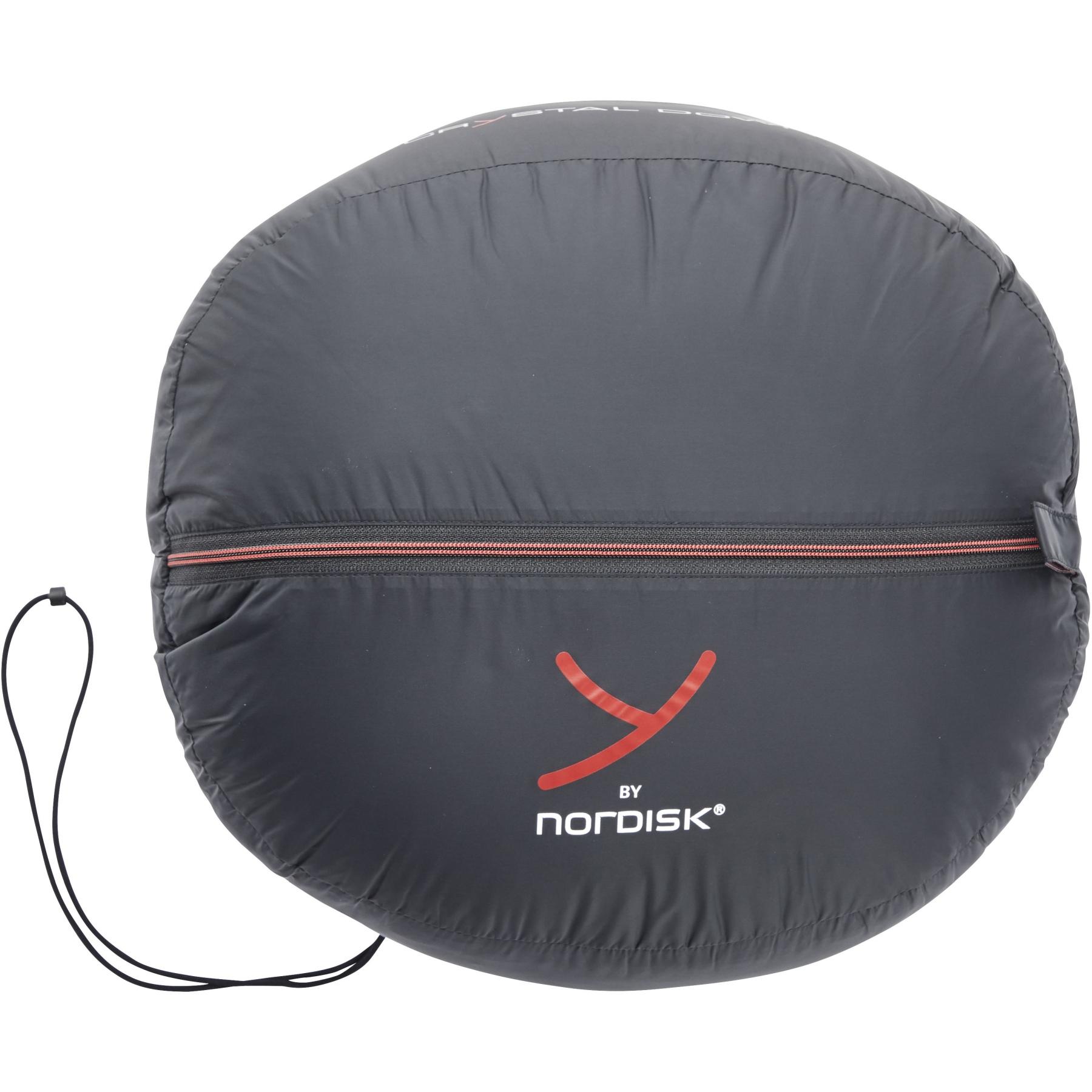 Bild von Y by Nordisk Voyage 500 XL Schlafsack - ribbon red/black