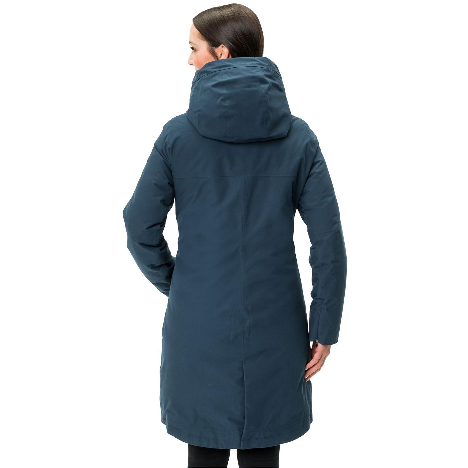 Image of Vaude Women's Annecy 3in1 Coat III - dark sea