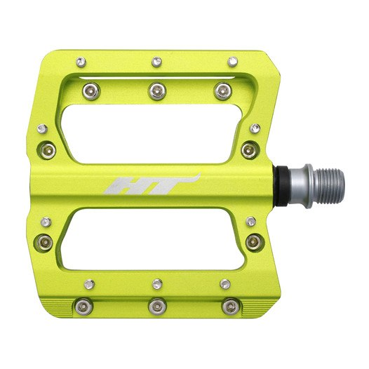 Produktbild von HT AN14 NANO Flat Pedal - apfelgrün
