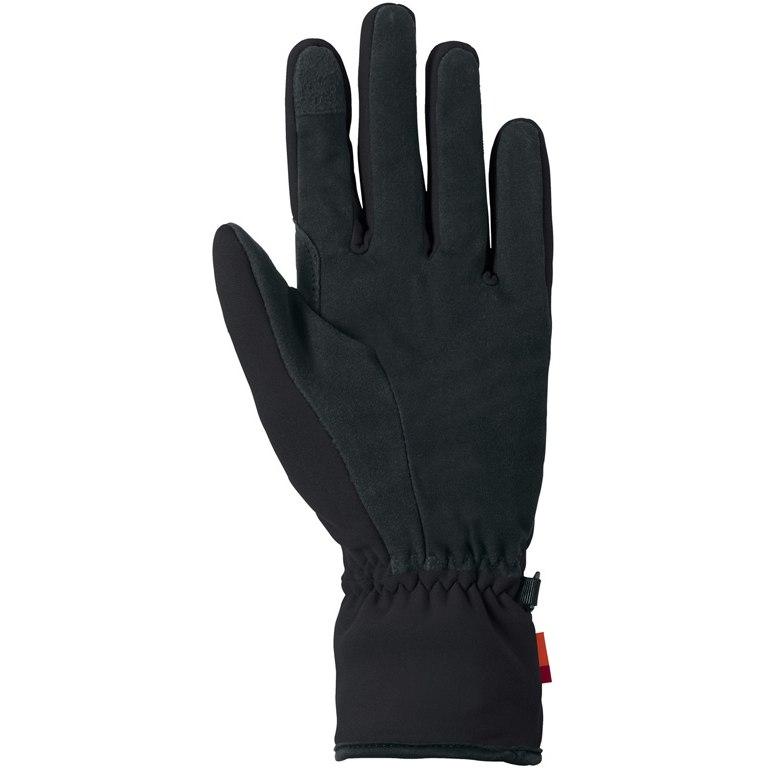 Image of Vaude Basodino Gloves II Fullfinger Glove - black
