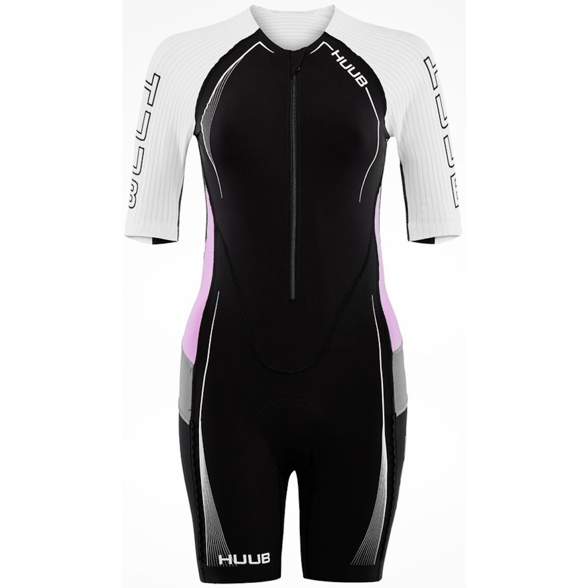 Produktbild von HUUB Design Anemoi Aero Damen Trisuit - schwarz/lila