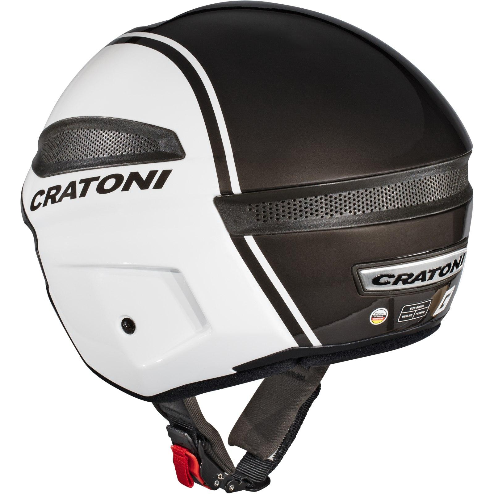 Image of CRATONI Vigor Helmet - white-anthracite glossy