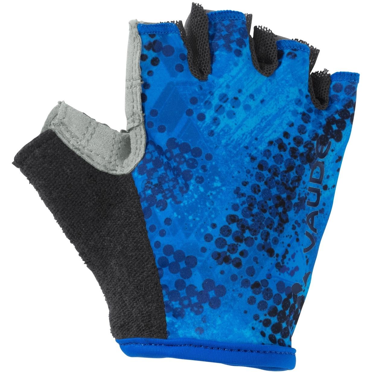 Vaude Kids Grody Gloves - radiate blue/eclipse