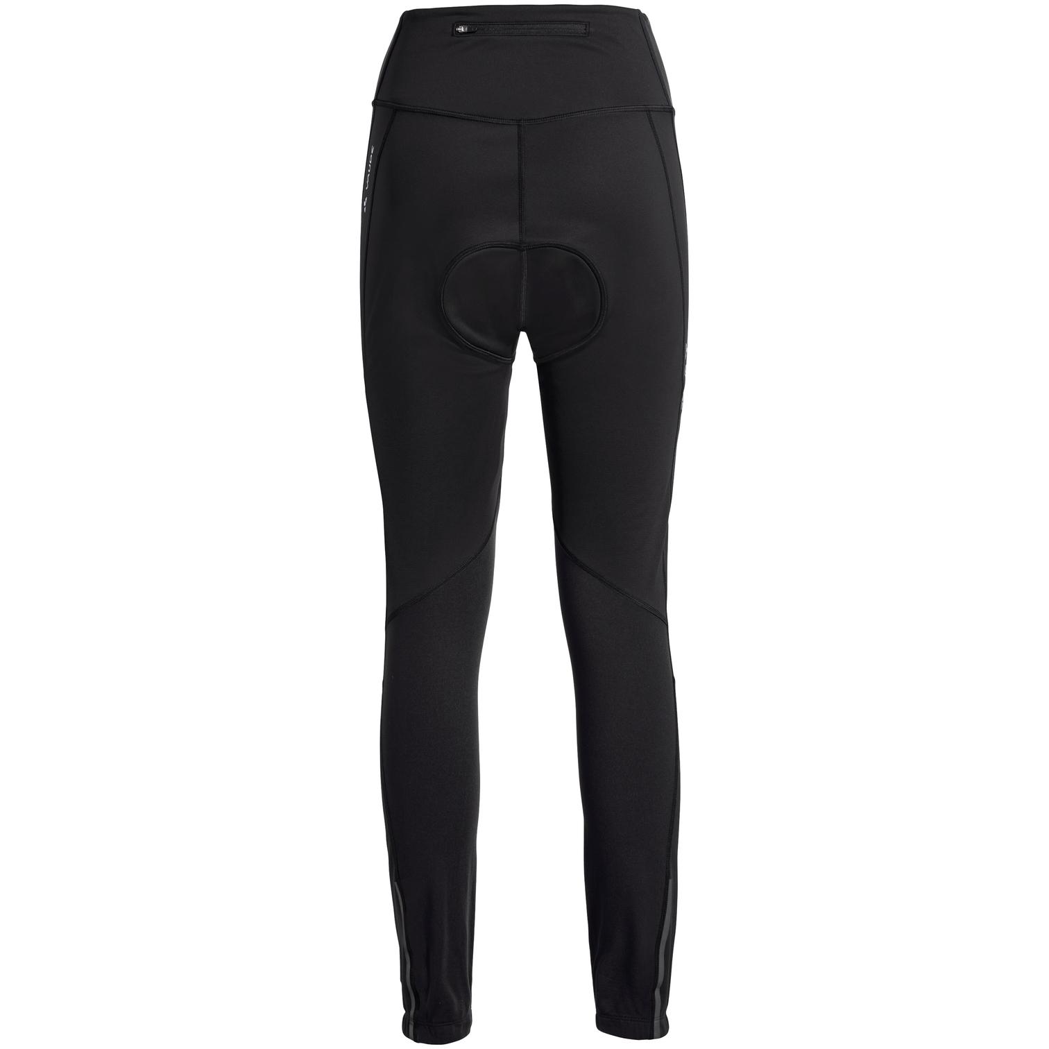 Image of Vaude Women's Posta Warm Tights - black