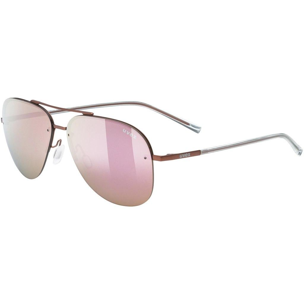 Uvex lgl 40 - purple/mirror pink Brille